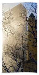 Beach Towel featuring the photograph Springtime In Chicago by Steven Sparks