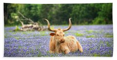 Springtime In Texas Beach Towel