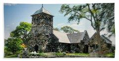 St. Ann's Episcopal Church Beach Towel by Diana Angstadt