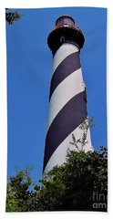 St Augustine Lighthouse Beach Sheet by D Hackett