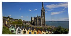 St Colmans Cathedral, Cobh, County Beach Towel