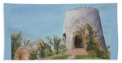 St. Croix Sugar Mill Beach Towel