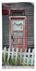 St. Elmo Door Salmon Beach Towel by Lanita Williams