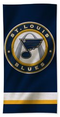 St Louis Blues Uniform Beach Towel