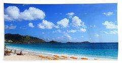 St. Maarten Calm Sea Beach Sheet