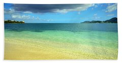St. Maarten Tropical Paradise Beach Towel