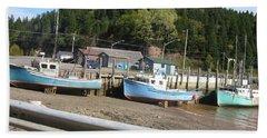 St-martin's Fishing Fleet Beach Sheet