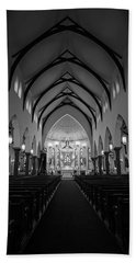 St Patricks Cathedral Fort Worth Beach Towel