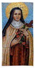 St. Theresa Mosaic Beach Towel