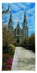 St Thomas Of Villanova Beach Towel