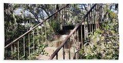 Stairs That Go Nowhere Beach Sheet