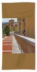 Stairway In Monaco French Riviera Beach Towel