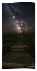 Stairway To The Galaxy Beach Towel