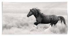 Stallion Blur Beach Sheet