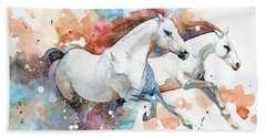 Stallions Beach Towel