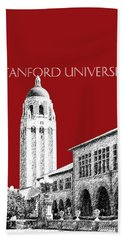 Stanford University - Dark Red Beach Towel