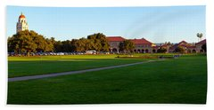 Stanford University Campus, Palo Alto Beach Towel by Panoramic Images
