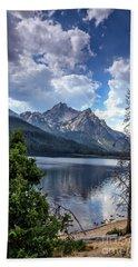 Stanley Lake View Beach Towel