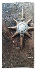 Star Doorbell Beach Towel