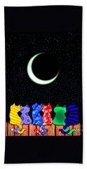 Star Gazers Beach Towel by Nick Gustafson