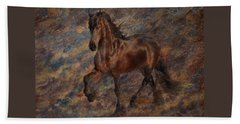 Beach Towel featuring the photograph Star Of The Show by Melinda Hughes-Berland