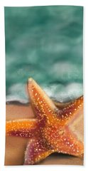 Starfish  Beach Towel by Christine Fournier