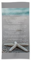 Starfish Make A Difference  Beach Towel