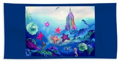 Starfish Play Beach Towel