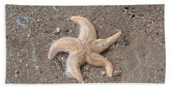 Beach Towel featuring the photograph Starfish by Tiffany Erdman