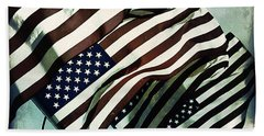 Stars N  Stripes Beach Towel