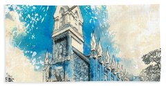 Stately Spires Beach Towel