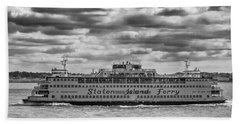 Staten Island Ferry 10484 Beach Towel