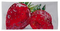 Stawberries Beach Towel