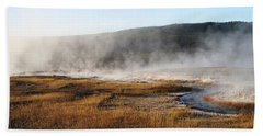 Steam Creek Beach Towel by David Andersen