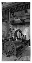 Steam Engine At Locke's Distillery Beach Towel