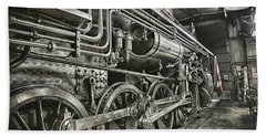 Steam Locomotive 2141 Beach Towel