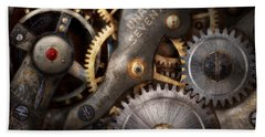 Steampunk - Gears - Horology Beach Towel