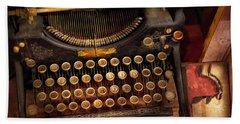 Steampunk - Just An Ordinary Typewriter  Beach Sheet