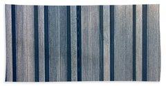 Steel Sheet Piling Wall Beach Towel