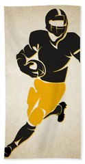 Steelers Shadow Player Beach Towel