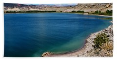 Beach Sheet featuring the photograph Steinacker Reservoir Utah by Janice Rae Pariza