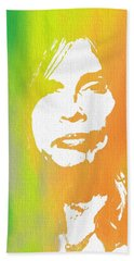 Steven Tyler Canvas Beach Sheet by Dan Sproul