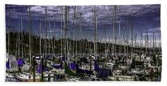 Beach Sheet featuring the photograph Stirring The Sky by Jean OKeeffe Macro Abundance Art