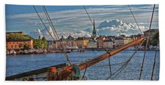 Stockholm Beach Towel by Hanny Heim