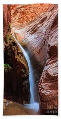 Stone Creek Fall Beach Towel