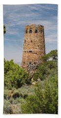 Stone Tower, South Rim, Grand Canyon Beach Towel