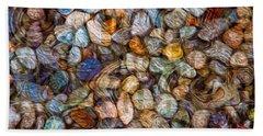 Stoned Stones Beach Towel
