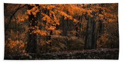 Stonewall In Autumn Beach Towel