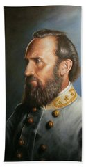 Stonewall Jackson Beach Towel