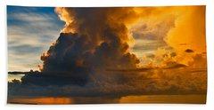 Storm At Sea Beach Sheet